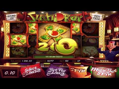 Sushi Bar™ free slots machine by BetSoft preview at Slotozilla.com