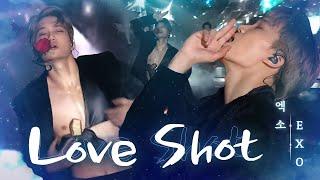 EXO, 한류 제왕의 미친 포스 'LOVE SHOT' @2018 SBS 가요대전