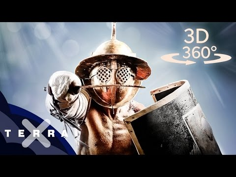 360° Gladiators at the Colosseum by Terra X Natur & Geschichte