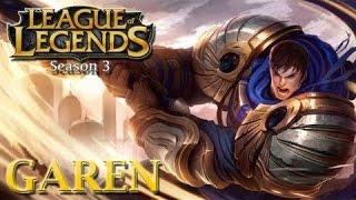 Garen Guide - Cách chơi lên đồ Build cho Garen