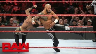 Ricochet teams up with Finn Bálor in first Raw match: Raw, Feb. 18, 2019