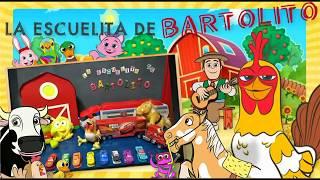 La Escuelita de Bartolito! Aprende los colores en inglés con los amigos de la patrulla canina y cars