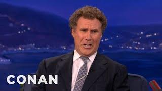 Will Ferrell Is All Busted Up Over Twilight's Kristen Stewart & Robert Pattinson - CONAN on TBS