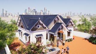 Mẫu Nhà Cấp 4 Đẹp 4 Phòng Ngủ 150m2 Giá 600 Triệu Tại Vĩnh Tường Vĩnh Phúc