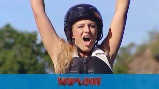 Wipeout Takes on The Sweeper!