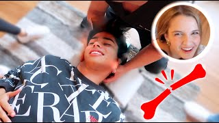 CHIROPRACTOR PRANK ON LEXI GONE WRONG!!