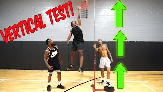 Highest Vertical Jump Test w/ Flight & Deestroying!