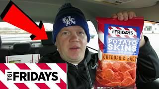 TGI Friday's Cheddar & Bacon Potato Skins (Reed Reviews)