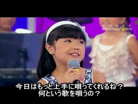 8歳の子供のすごい歌唱力!