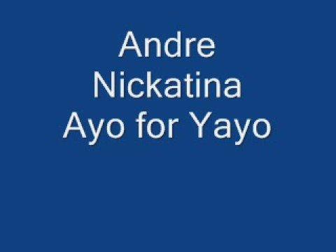 Andre Nickatina Ayo for Yayo
