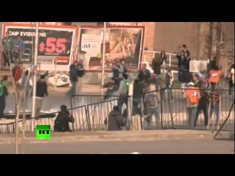 Тысячи аргентинцев протестуют против разработки месторождений сланцевого газа американской компание