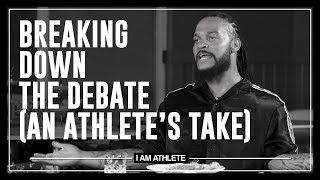 Breaking Down The Debate & COVID In The NFL | I AM ATHLETE with Brandon Marshall & More