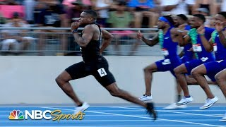 Christian Coleman takes his first U.S.100m title at 2019 USATF Outdoor Championships | NBC Sports