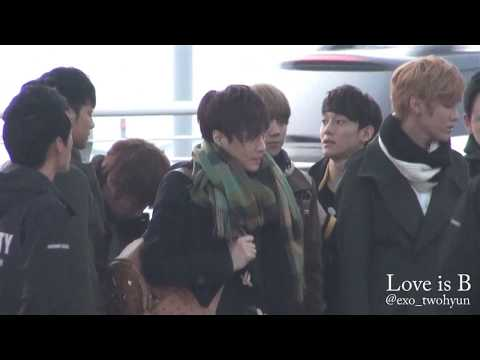 121122 Incheon to Singapore EXO-M & EXO-K