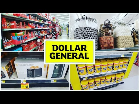 DOLLAR GENERAL * SHOP WITH ME