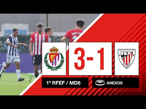 ⚽ Resumen I 8. J – 1ª RFEF I Valladolid Promesas 3-1 Bilbao Athletic I Laburpena
