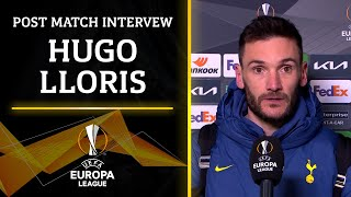 Hugo Lloris gives his post match interview after Tottenham's loss | UCL on CBS Sports