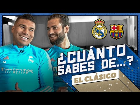 EL CLÁSICO quiz!   Casemiro vs. Nacho   Real Madrid