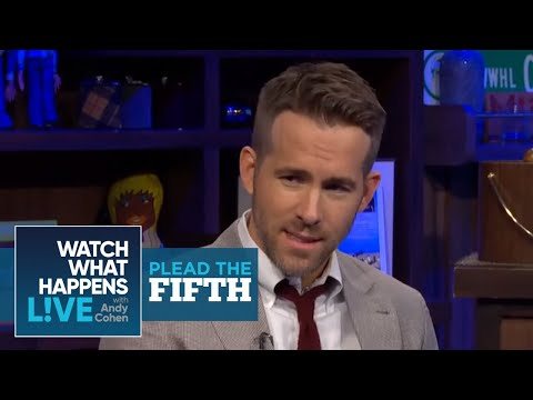 Ryan Reynolds Rates 'The Green Lantern' And His Taint | Plead the Fifth | WWHL