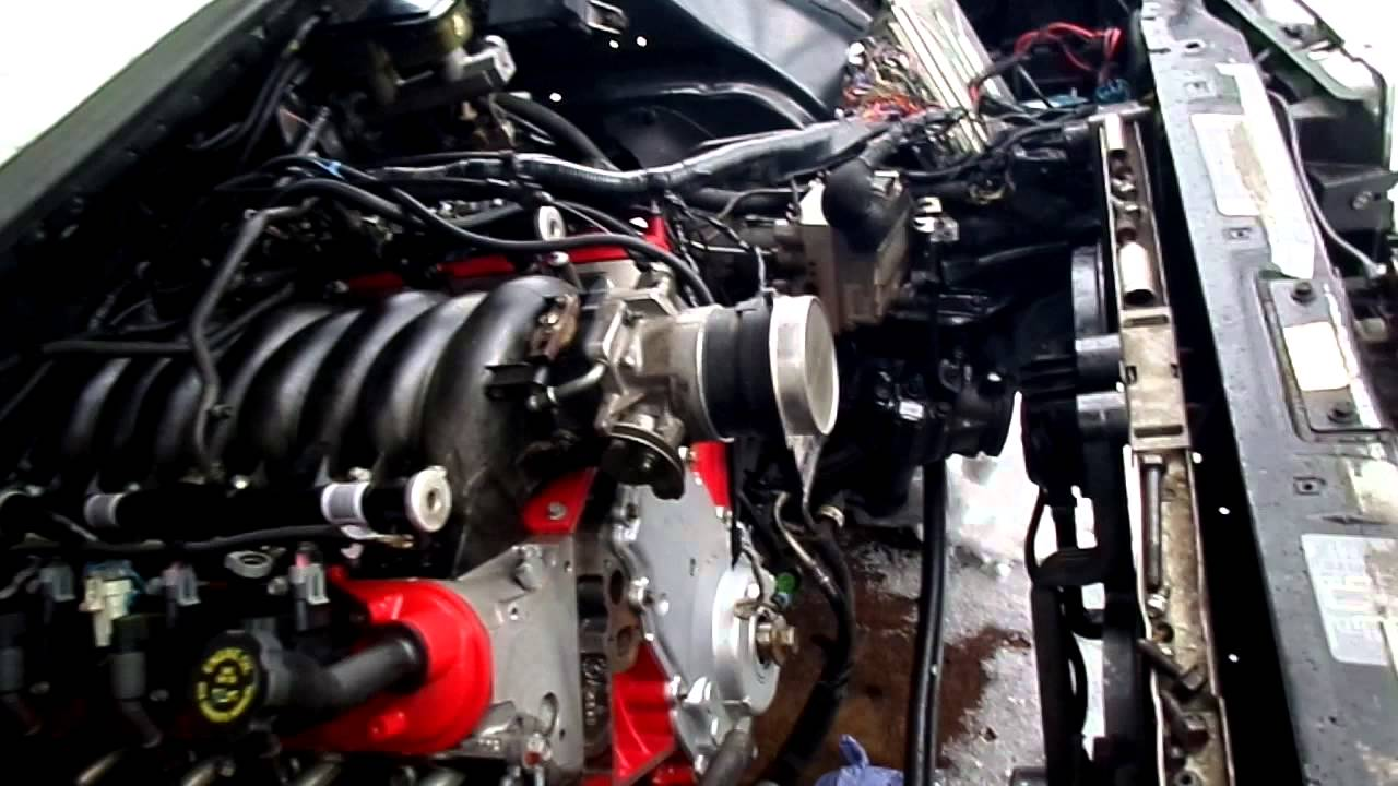 stand alone lt1 wiring harness how to ls swap an 1994 1996 impala ss engine running