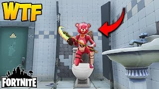THE TOILET TRAP! (EPIC) - Fortnite Funny Fails and WTF Moments! #142 (Daily Moments)