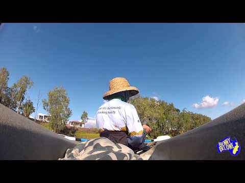 Townsville Kayak Fishing 4lb line, Barra, Ross River