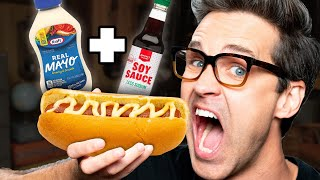 Weird Hot Dog Topping Taste Test