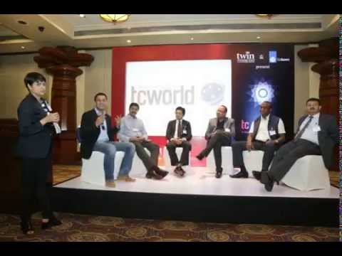 Crystal Hues and Top Indian Translation Companies Share Stage in tcworld India 2015