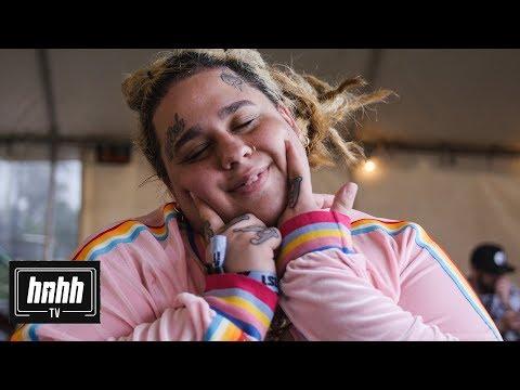 Fat Nick Talks Pouya, Lil Peep, New Album & More @ Rolling Loud 2018 (HNHH Interview 2018)