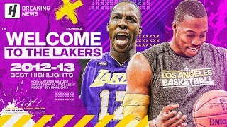 BREAKING: Dwight Howard Will Sign with the Lakers Again! BEST Highlights from His First Lakers Year!