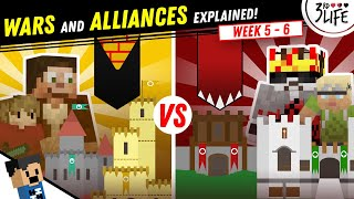 3rd Life SMP: Wars and Alliances Explained | WEEK 5 - 6
