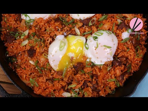 Beef Short Rib Kimchi Fried Rice & Soft Boiled Eggs