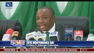 FG Plans To Elaborate 2018 Independence Day Celebration