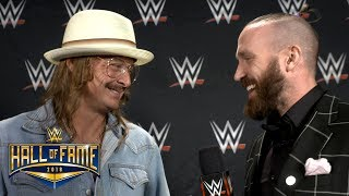 """Kid Rock's WWE Hall of Fame induction was a """"pleasant surprise"""": Exclusive, April 6, 2018"""