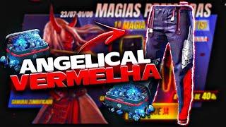 COMO GANHAR A CALÇA ANGELICAL VERMELHA DE GRAÇA NO FREE FIRE