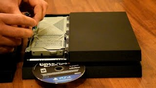 How to Eject PS4 Disk Manually Blue-Ray Disk or Video game stuck in console EASY TUTORIAL