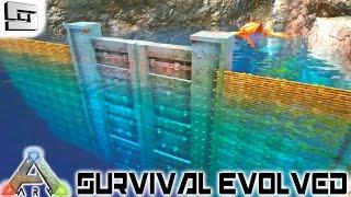 ARK: Survival Evolved - UNDERWATER DINOSAUR PEN! E36 ( Gameplay )