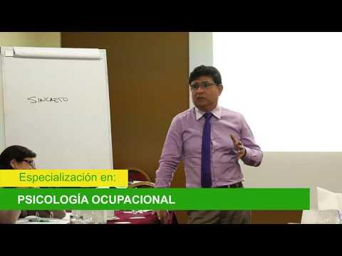 Programa de Especialización en Psicología Ocupacional. Módulo 4, Parte 9 (31/05/16)