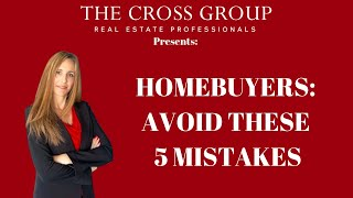 The Cross Group 925-584-1640: 5 Ways to Kill a Real Estate Transaction