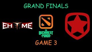 EHOME vs Gambit Esports GRAND FINALS Game 3 Highlights - The Bucharest Minor
