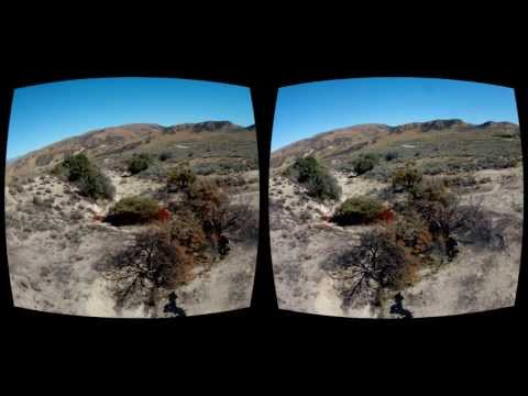 Oculus Rift 3D GoPro movie - Follow the Fire Line