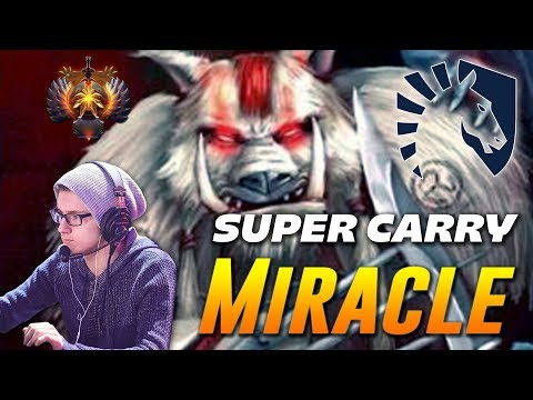 Miracle Bloodseeker Super Carry | Dota 2 Pro Gameplay