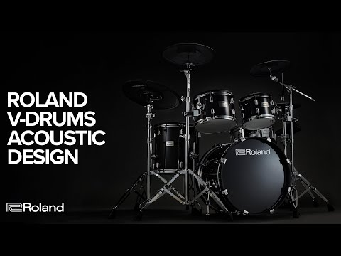 video Roland VAD506 V-Drums Acoustic Design