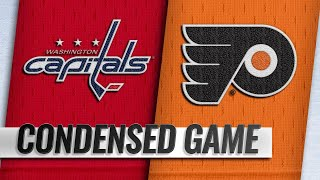 03/06/19 Condensed Game: Capitals @ Flyers