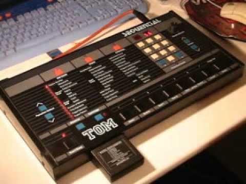 sequential circuits tom vintage drum machine 1985 hq demo youtube. Black Bedroom Furniture Sets. Home Design Ideas