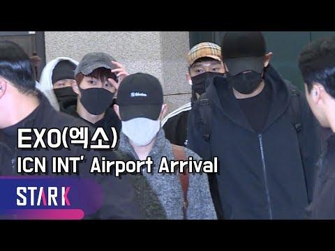 엑소의 험난한 입국 현장 (EXO, ICN INT' Airport Arrival)