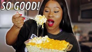 HOW TO MAKE MAC N CHEESE FROM SCRATCH!