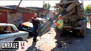Filling a car with 5 tons of concrete – will it drive