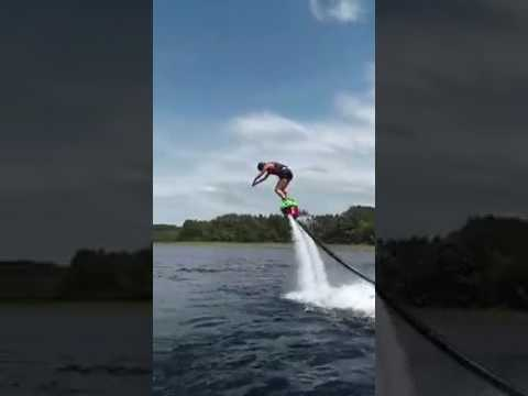 First Time Flyboarding in Minnesota