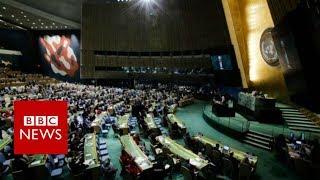 Jerusalem: UN resolution rejects Trump's declaration - BBC News